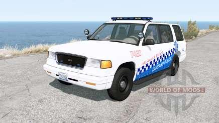 Gavril Roamer Chicago Police v1.31 для BeamNG Drive