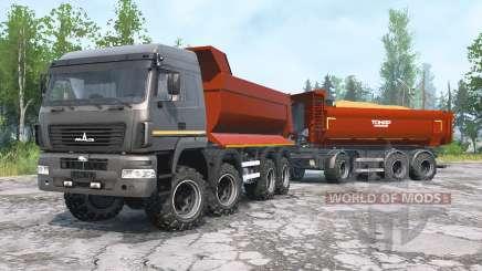 МАЗ-6516В9 для MudRunner