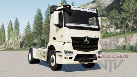 Mercedes-Benz Antos 324ⴝ для Farming Simulator 2017