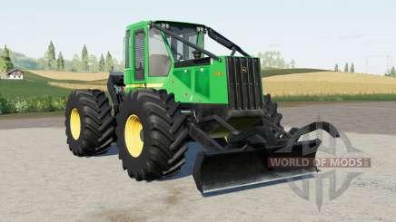 John Deere 540G-III для Farming Simulator 2017