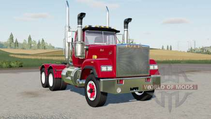 Mack Super-Liner Day Caꞗ для Farming Simulator 2017