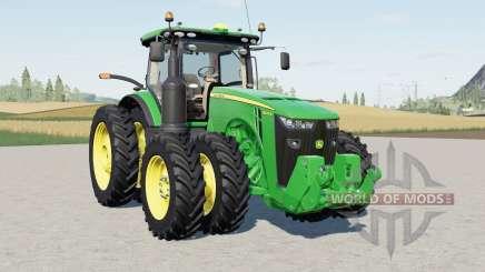 John Deere 8R-series U.S. для Farming Simulator 2017