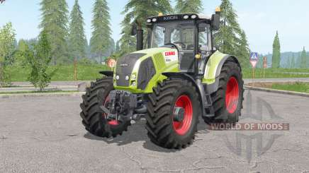 Claas Axioᶇ 800 для Farming Simulator 2017