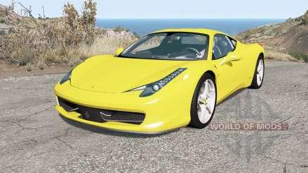 Ferrari 458 Italia 2010 для BeamNG Drive