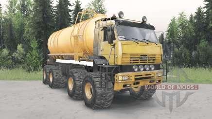 КамАЗ-6560 Полярник v1.2 для Spin Tires