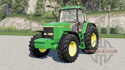 John Deere 7010-serieʂ для Farming Simulator 2017