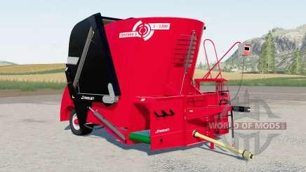 Trioliet Triomix S1 1200 для Farming Simulator 2017