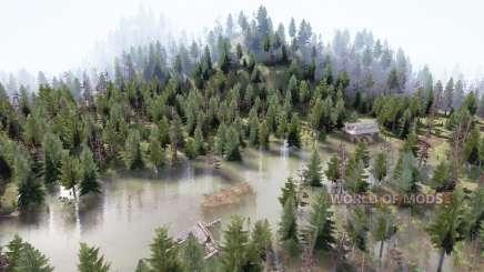 Таёжный лес для MudRunner