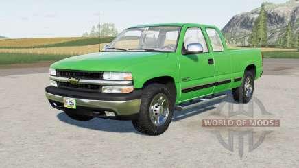 Chevrolet Silverado 1500 Extended Cab 1999 для Farming Simulator 2017