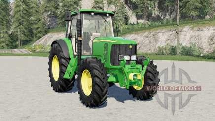 John Deere 6020-serieꞩ для Farming Simulator 2017