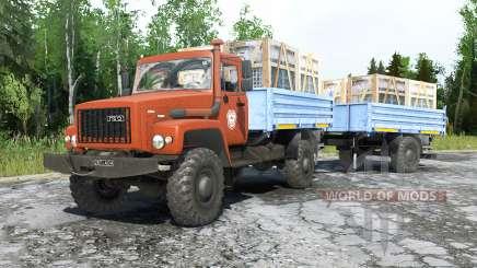 ГАЗ-3308 Садко для MudRunner