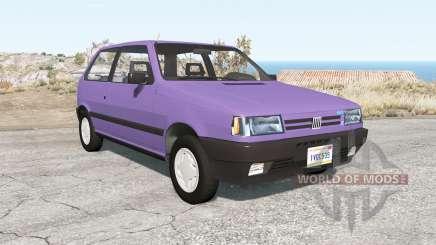Fiat Uno 3-door (146) 1991 для BeamNG Drive
