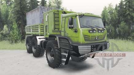 КамАЗ-6345 Арктика для Spin Tires