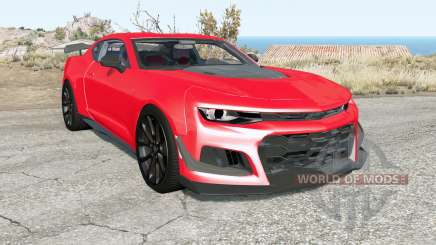 Chevrolet Camaro ZL1 1LE 2018 для BeamNG Drive
