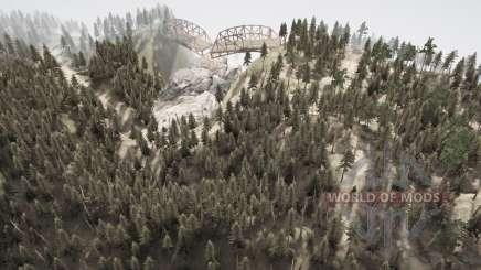 Змеиные дороги 10 для MudRunner