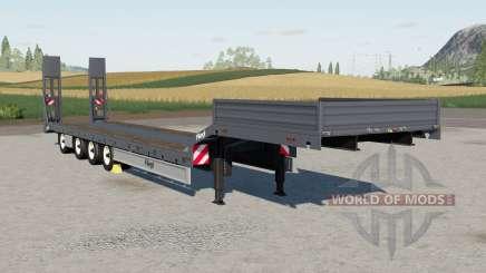 Fliegl Tieflader для Farming Simulator 2017