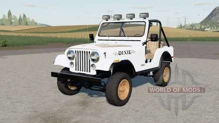 Jeep CJ-5 Renegade Daisys для Farming Simulator 2017