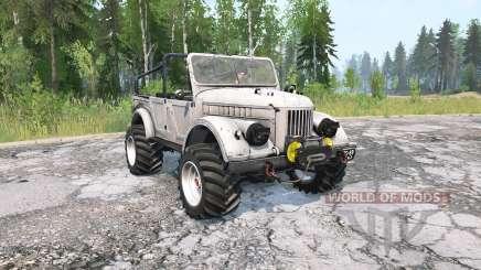 ГАЗ-69А для MudRunner