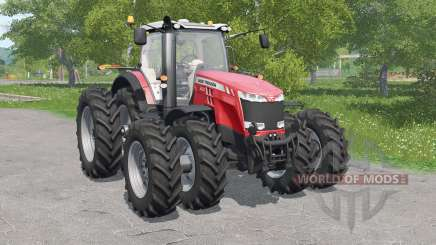 Massey Ferguson 8700-serieᵴ для Farming Simulator 2017
