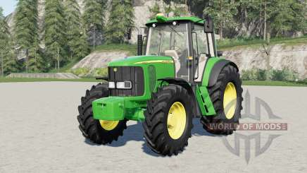 John Deere 6020-serieȿ для Farming Simulator 2017