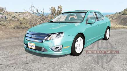 Ford Fusion Sport (CD338) 2010 для BeamNG Drive