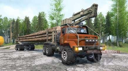 КрАЗ-64372 для MudRunner