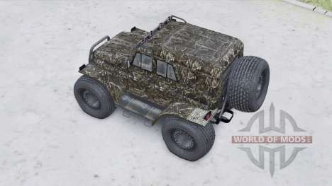 УАЗ-3151 Трэкол плавающий для Spin Tires