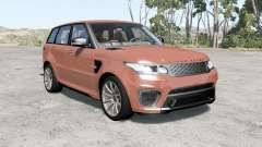 Range Rover Sport SVR 2015 для BeamNG Drive