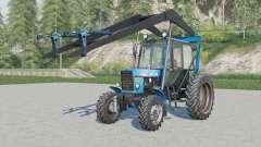 МТЗ-82.1 Беларус СНУ-550 v1.1 для Farming Simulator 2017