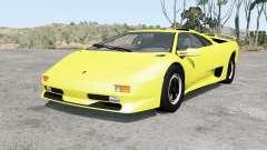 Lamborghini Diablo SV 1998 для BeamNG Drive