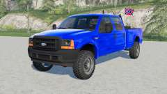 Ford F-250 Super Duty XL Double Cab 2002 для Farming Simulator 2017