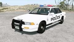 Gavril Grand Marshall Firwood Police v1.2 для BeamNG Drive