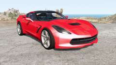 Chevrolet Corvette Stingray coupe (C7) 2013 для BeamNG Drive