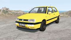 Volkswagen Golf 3-door (Typ 1H) 1995 для BeamNG Drive