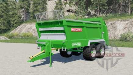 Bergmann TSW 4190 Ꞩ для Farming Simulator 2017