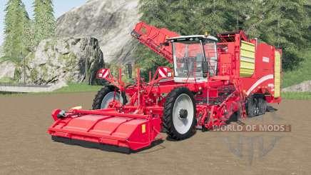 Grimme Varitron 470 Platinum TerraTrac 20 meters для Farming Simulator 2017