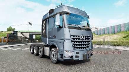 Mercedes-Benz Arocs 4163 SLT 2014 v1.6.3 для Euro Truck Simulator 2