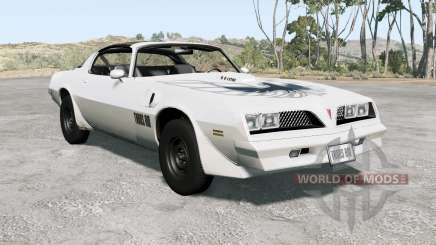 Pontiac Firebird Trans Aᵯ 1977 для BeamNG Drive