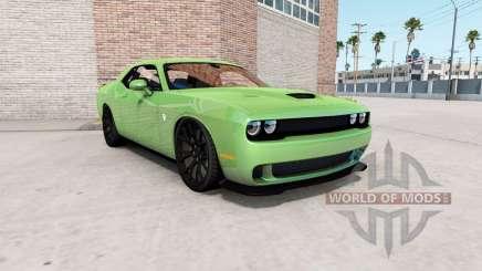Dodge Challenger SRT Hellcat (LC) 2018 v1.2 для American Truck Simulator