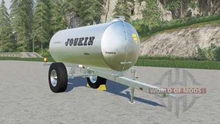 Joskin AquaTrans 7300 S milk & water для Farming Simulator 2017