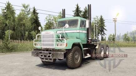 Freightliner M916A1 для Spin Tires