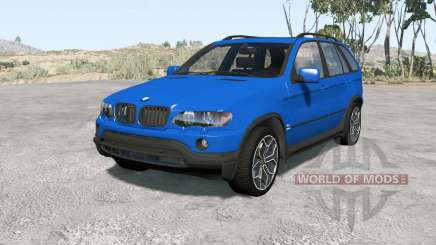 BMW X5 (E53) 200Ձ для BeamNG Drive