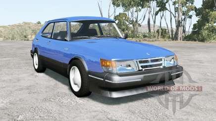 Saab 900 Turbo 3-door 1987 для BeamNG Drive