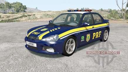 Hirochi Sunburst Brazilian PRF Police v0.9.5 для BeamNG Drive