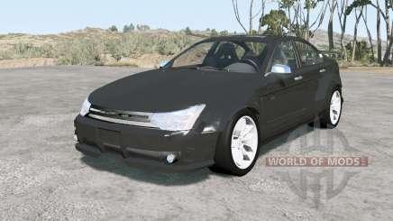 Ford Focus sedan (NA2) 2008 v1.11 для BeamNG Drive
