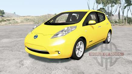 Nissan Leaf 2014 v1.1 для BeamNG Drive