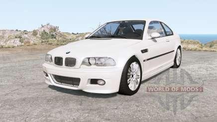 BMW M3 coupe (E46) 2001 для BeamNG Drive