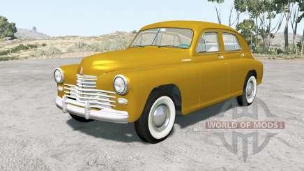 ГАЗ М-20 Победа 1949 для BeamNG Drive