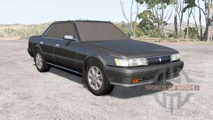 Toyota Chaser GT Twin Turbo (GX81) 1990 для BeamNG Drive