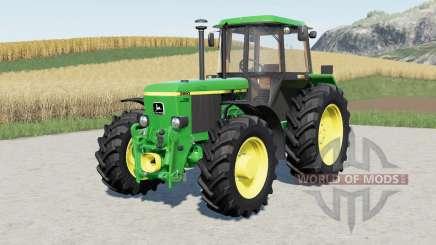John Deere 3050-series для Farming Simulator 2017